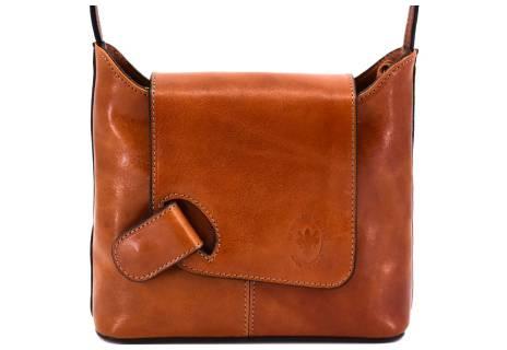 Dámská kožená kabelka crossbody Arteddy