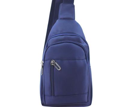 Pánská taška přes rameno -tmavě modrá