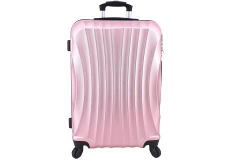 Cestovní skořepina kufr na čtyřech kolečkách Arteddy - (L) 90l
