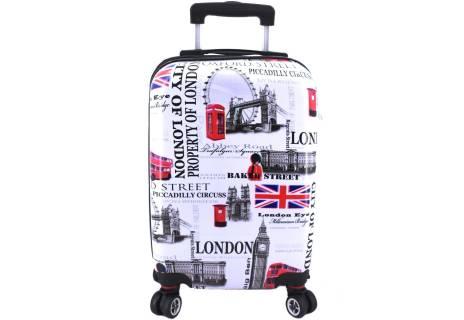 Cestovní palubní kufr skořepinový na čtyřech kolečkách Arteddy - Meter Flag (XS) 30l