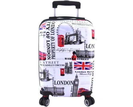 Cestovní palubní kufr skořepinový na čtyřech kolečkách Arteddy - Meter Flag (XS)
