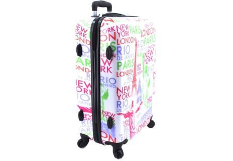 Cestovní palubní kufr skořepinový na čtyřech kolečkách ORMI - Tower Goddess (S) 45l