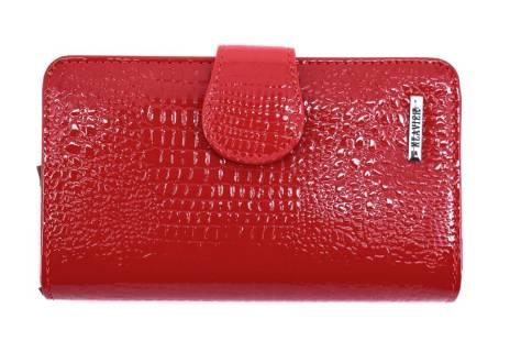 Kožená lakovaná peněženka Klavier