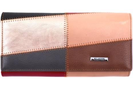 Dámská kožená peněženka Klavier