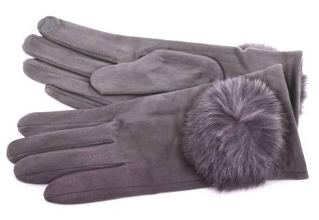 Elegantní zateplené dámské rukavice
