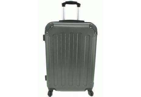 Cestovní skořepina kufr na čtyřech kolečkách Arteddy - (M) 60l