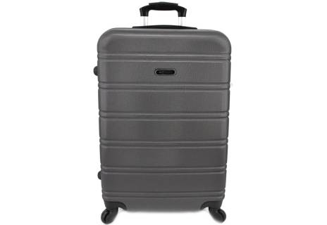 Cestovní kufr skořepinový na čtyřech kolečkách Agrado - (M) 60l