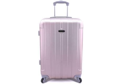 Cestovní palubní kufr skořepinový na čtyřech kolečkách Agrado - (S) 40l