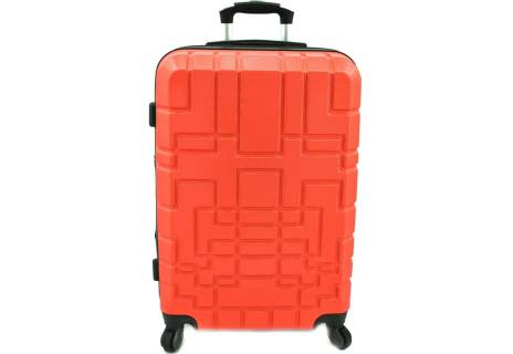 Cestovní kufr skořepinový na čtyřech kolečkách - (M) 80l
