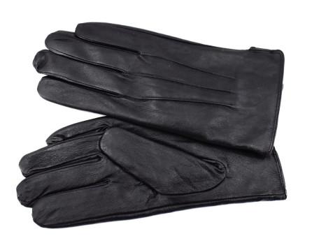 Pánské kožené rukavice Grimaldi - černá