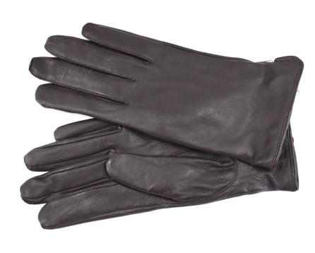 Dámské kožené rukavice Every - tmavě hnědá (M)