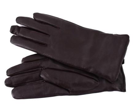 Dámské zateplené kožené rukavice Every - tmavě hnědá (L)