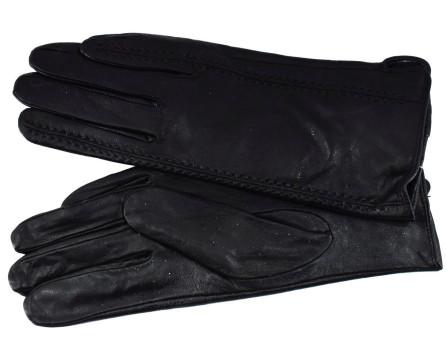 Dámské zateplené kožené rukavice Arteddy