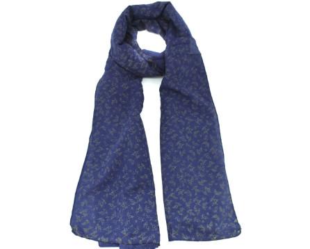 Šátek  s květovaným vzorem