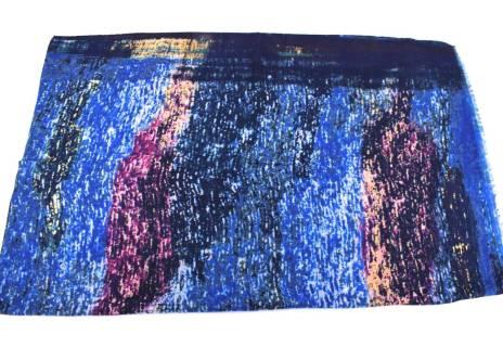 Moderní vzorovaný šátek