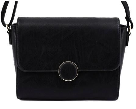 Dámská kabelka crossbody - černá