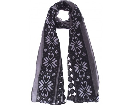 Dámský šátek - tmavě modrá