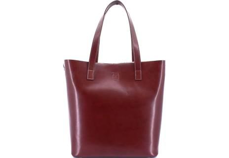 Moderní dámská velká kožená kabelka Arteddy