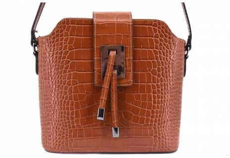 Dámská kožená kabelka croco  Arteddy