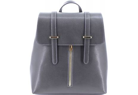 Dámský kožený batoh s klopnou Arteddy