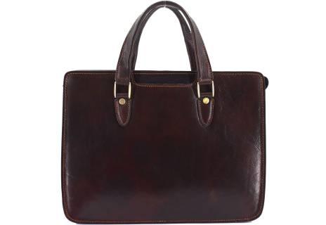 Luxusní dámská kožená kabelka Arteddy