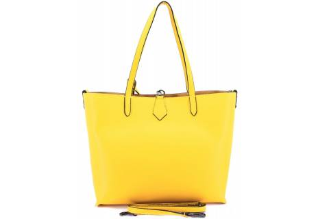 Moderní dámská kožená kabelka