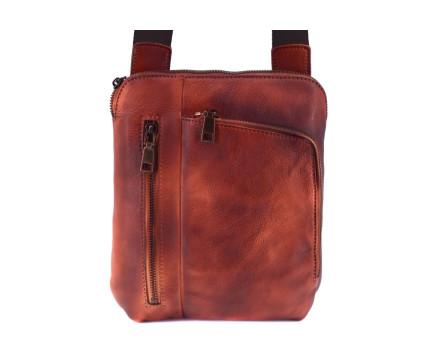 Kožená taška přes rameno crossbody