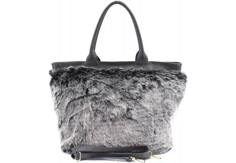 Luxusní dámská kožená kabelka Shopper