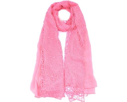 Moderní dámský šátek - růžová