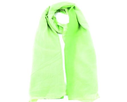 Moderní šátek - světle zelená