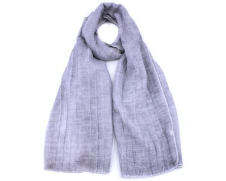 Moderní šátek - šedá