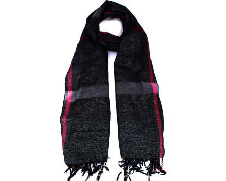 Moderní dámský šátek - černá