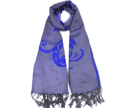 Moderní šátek - modrá