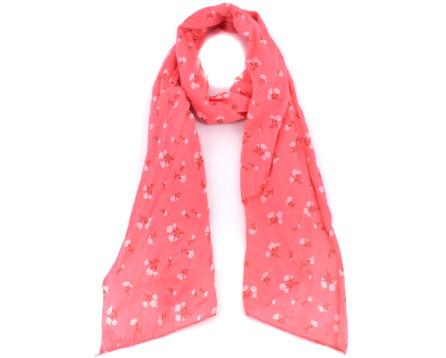 Dámský šátek Made in Italy - lososová