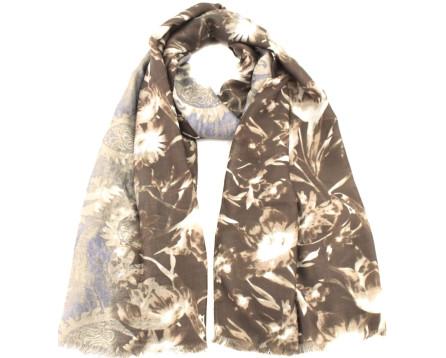 Moderní dámský šátek s potiskem