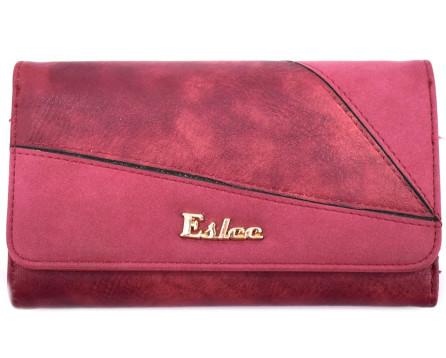 Peněženka Eslee vínová