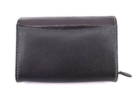 Dámská kožená peněženka Boss - černá