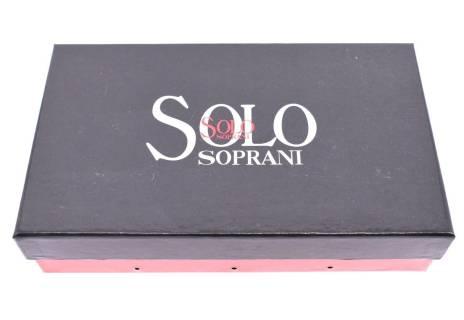 Dámská kožená peněženka Solo Soprani květovaná
