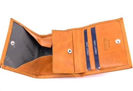 Kožená peněženka Coveri World