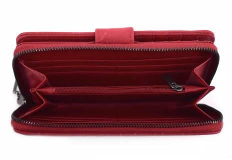 Peněženka Arteddy tmavě červená