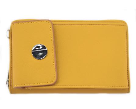 Dámská peněženka na mobil Arteddy hořčicová