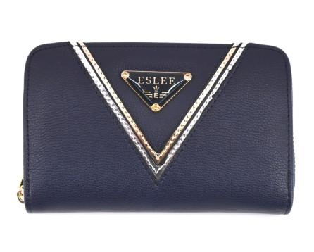 Peněženka Eslee tmavě modrá