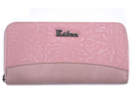 Peněženka Eslee růžová/pudrová