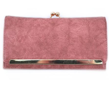 Moderní peněženka Arteddy - tmavě růžová
