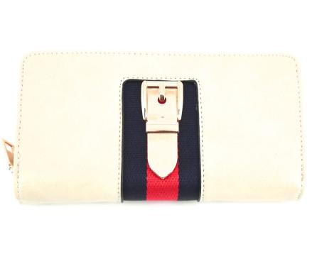 Moderní peněženka Arteddy - krémová