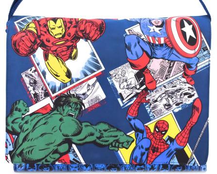 Taška přes rameno  Marvel Comics tmavě modrá