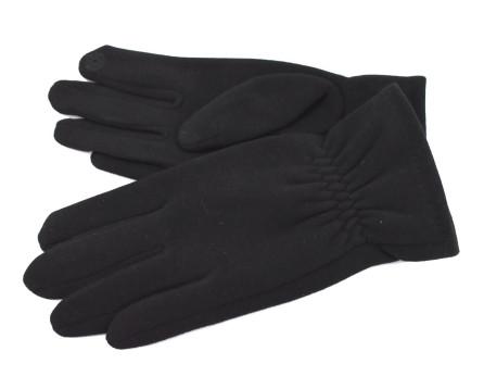 Dámské zateplené rukavice - černá