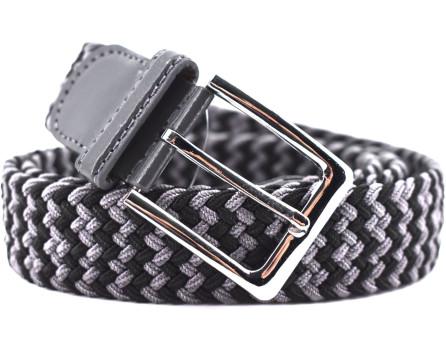 Elastický opasek Arteddy - tmavě šedá/ černá /115