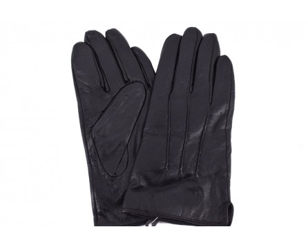 Pánské kožené rukavice Arteddy - černé