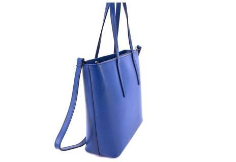 Dámská kožená kabelka Arteddy - modrá